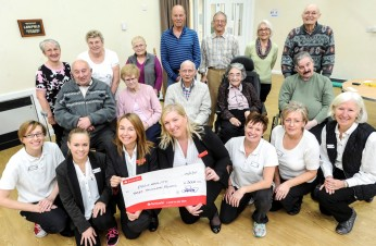 £3,000 donation from Santander Foundation