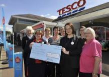 Cheque from Ely Tesco