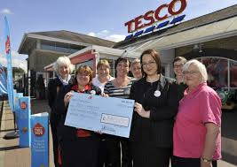 cheque from tesco