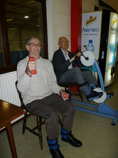 Clients enjoying their workout