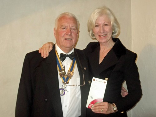Rotary Charter Night-John Yate and Linda Neate, Chaire